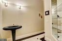 Powder Room - 24 BRETT MANOR CT, COCKEYSVILLE