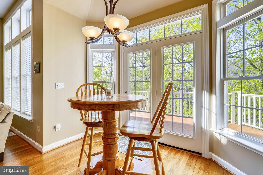 Enjoy your morning coffee while gazing outside - 1911 LOGAN MANOR DR, RESTON