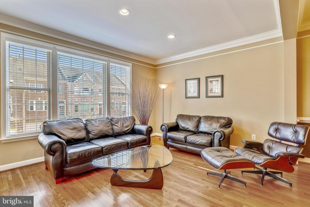 Natural light plus overhead Recessed Lighting - 1911 LOGAN MANOR DR, RESTON