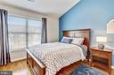Bedroom #2 features Cathedral Ceiling - 1911 LOGAN MANOR DR, RESTON