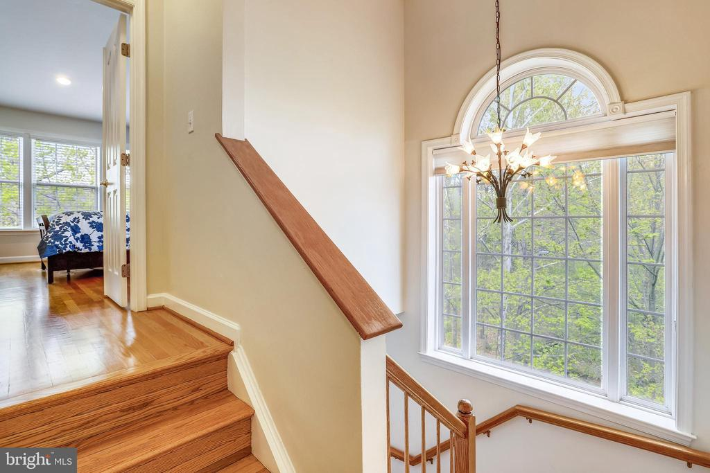 Gorgeous Side Window with Palladian  curved top - 1911 LOGAN MANOR DR, RESTON
