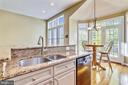 Beautiful Granite Counter-tops in the Kitchen - 1911 LOGAN MANOR DR, RESTON