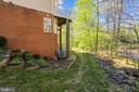 Terraced/Landscaped Side Yard - 1911 LOGAN MANOR DR, RESTON