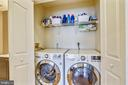 You'll love the convenience of Upper Level Laundry - 1911 LOGAN MANOR DR, RESTON