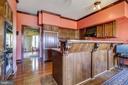 Kitchen - Breakfast Bar and Granite Counter-tops - 3905 BELLE RIVE TER, ALEXANDRIA
