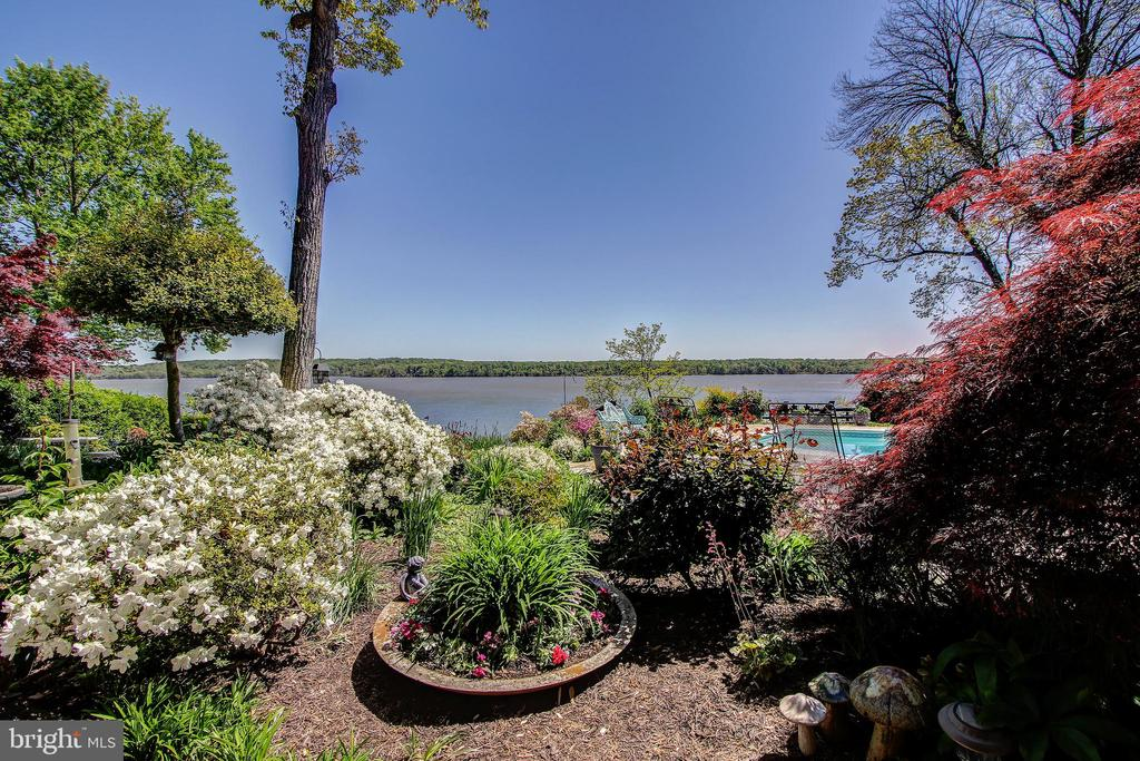 View From Cabana of Garden and Potomac River! - 3905 BELLE RIVE TER, ALEXANDRIA