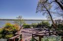 Outdoor Deck Overlooking Potomac & Maryland Shore - 3905 BELLE RIVE TER, ALEXANDRIA