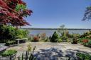 Additional Side Patio in Back Yard Overlooks River - 3905 BELLE RIVE TER, ALEXANDRIA