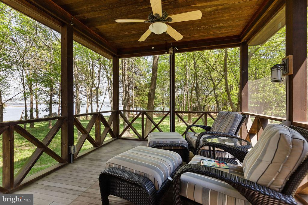 A screened-in porch is just off of the master brm - 15270 HATTON LANDING DR, NEWBURG