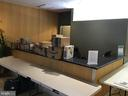 Concierge's desk - Front Lobby - extra tables - 1117 10TH ST NW #504, WASHINGTON