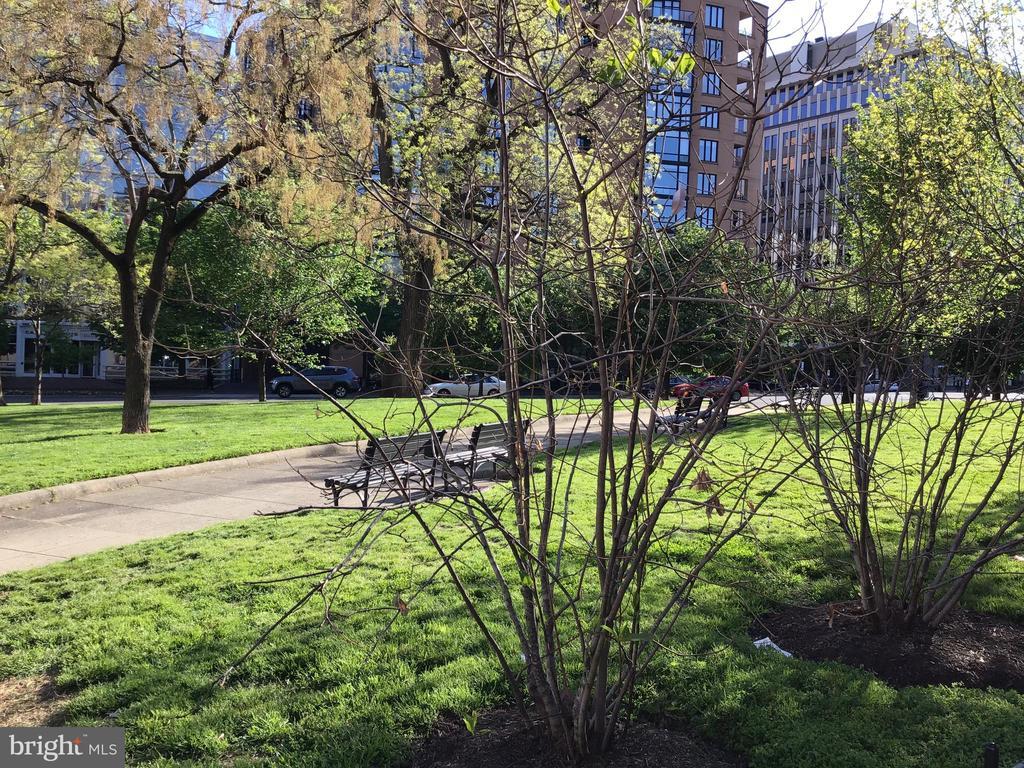 Samuel Gompers Park 1/2 block away - 1117 10TH ST NW #504, WASHINGTON