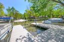 Dock boasts wave runner and boat lifts - 118 CONFEDERATE CIR, LOCUST GROVE