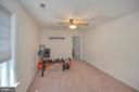 Exercise room or sitting room off 4th bedroom - 118 CONFEDERATE CIR, LOCUST GROVE