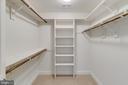 Master Bedroom Closet w/Built-ins - 24020 LACEYS TAVERN CT, ALDIE