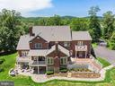 Overhead View of Backyard - 24020 LACEYS TAVERN CT, ALDIE