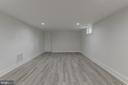 Basement Family Room - 3701 SOUTH DAKOTA AVE NE, WASHINGTON
