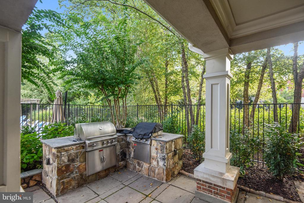 West Market Clubhouse - Outdoor Grill - 1911 LOGAN MANOR DR, RESTON
