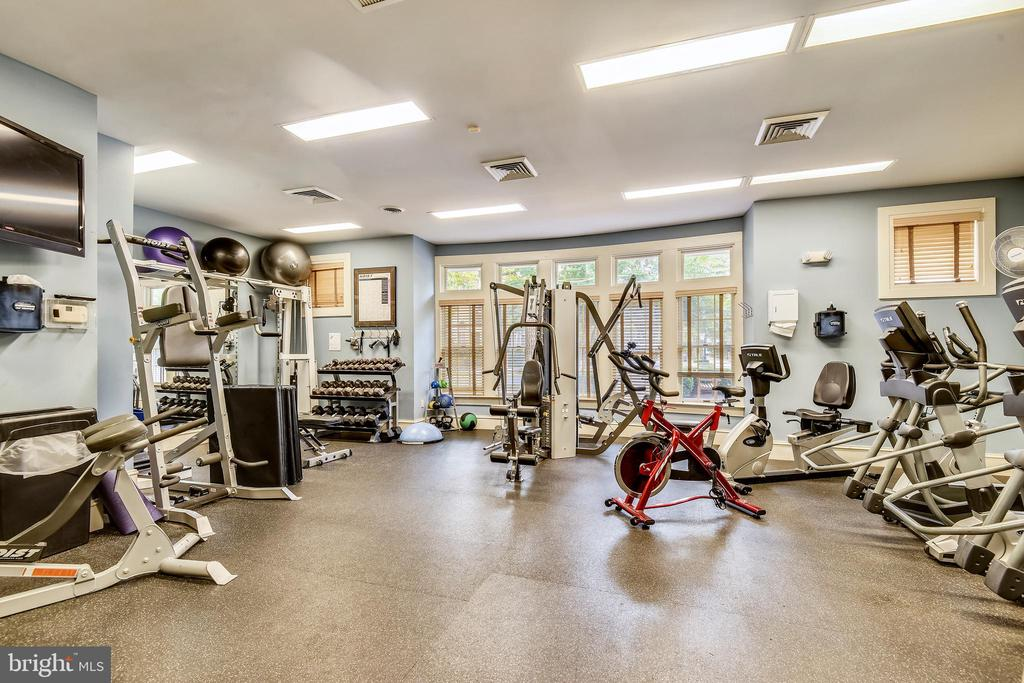 West Market Clubhouse - Exercise Room - 1911 LOGAN MANOR DR, RESTON