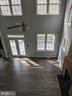 View from upstairs into living room - 109 PARLIAMENT ST, LOCUST GROVE