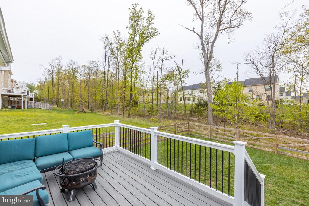 Open deck overlooking large common space - 25916 SYCAMORE GROVE PL, ALDIE