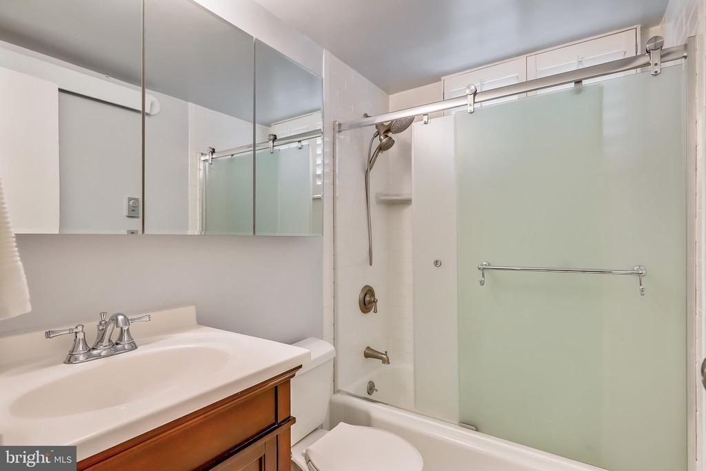 Updated Bathroom - 2710 MACOMB ST NW #215, WASHINGTON