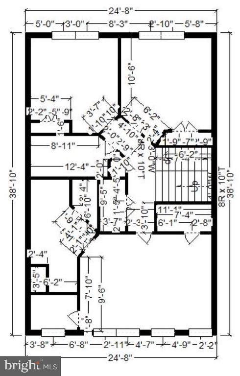 3rd floor plan - 12222 DORRANCE CT, RESTON