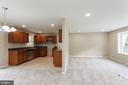 Kitchen and Living - 413 MILLWOOF DR, CAPITOL HEIGHTS