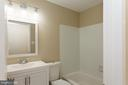 Hall full bath - 413 MILLWOOF DR, CAPITOL HEIGHTS
