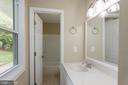 Master vanity - 413 MILLWOOF DR, CAPITOL HEIGHTS