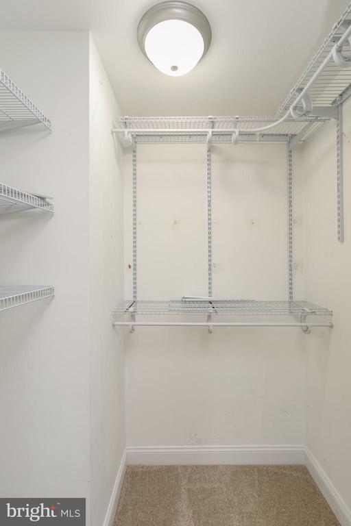Master closet - 275 PINOAK LN, FREDERICK