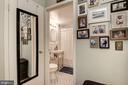 Entry to Bath - 1711 MASSACHUSETTS AVE NW #214, WASHINGTON