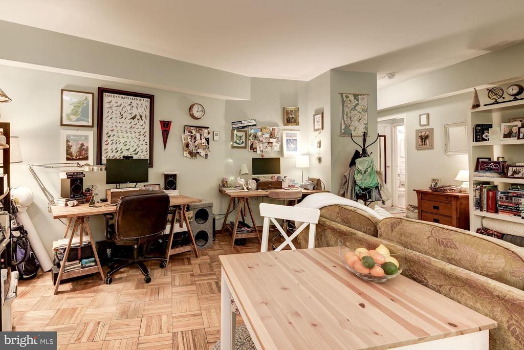 Dining Area/Living Area - 1711 MASSACHUSETTS AVE NW #214, WASHINGTON