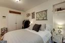 Bedroom - 1711 MASSACHUSETTS AVE NW #214, WASHINGTON