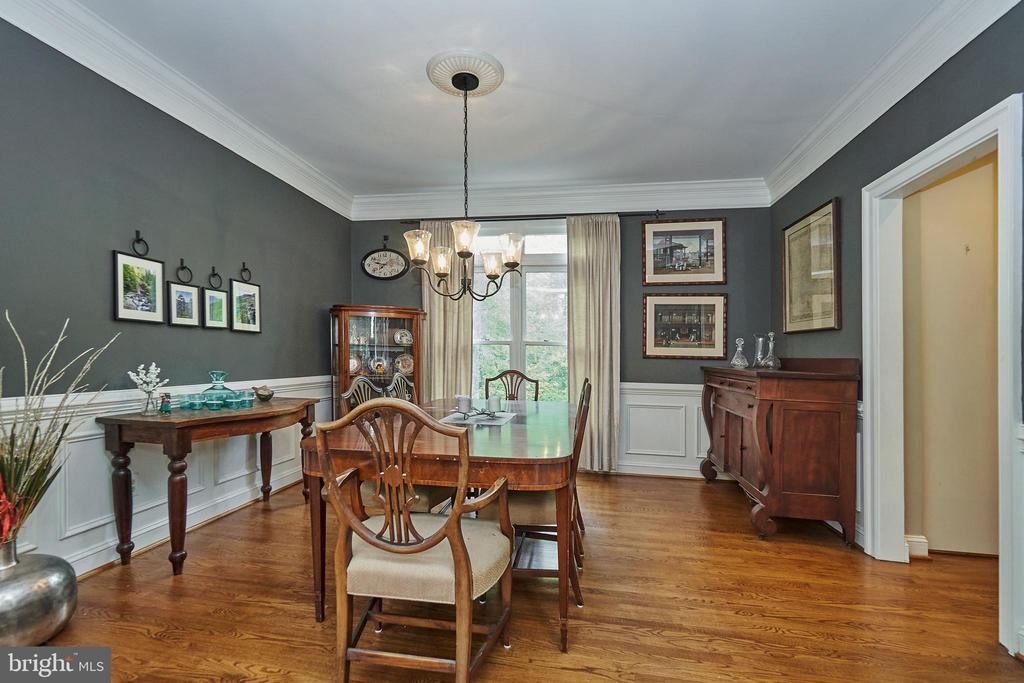 Formal Dining Room - 5809 MAGNOLIA LN, FALLS CHURCH