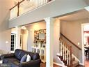 Back stairs - 17720 CRICKET HILL DR, GERMANTOWN