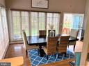 Nice bright Morning Room adjacent to kitchen - 17720 CRICKET HILL DR, GERMANTOWN
