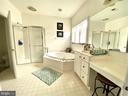 Master Bathroom - 17720 CRICKET HILL DR, GERMANTOWN