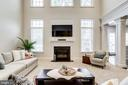 Stunning, sun-drenched Great Room - 1381 BISHOP CREST CT, ALEXANDRIA