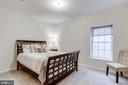 Fifth bedroom on lower level - 1381 BISHOP CREST CT, ALEXANDRIA