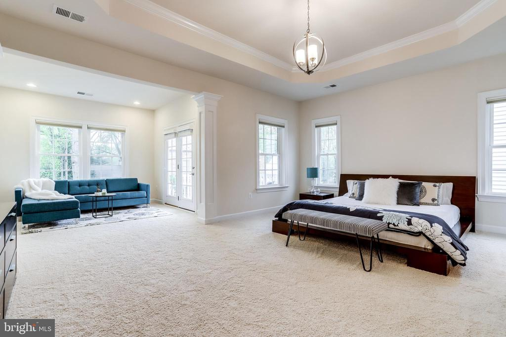 Oversized Master w/ sitting room & private balcony - 1381 BISHOP CREST CT, ALEXANDRIA