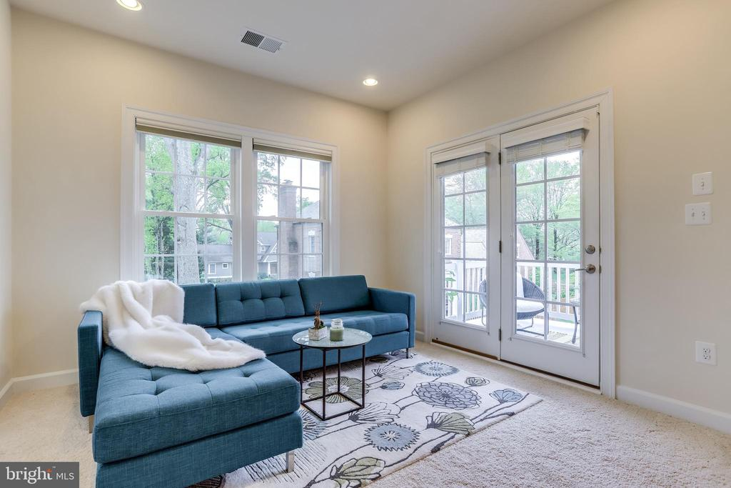 French doors leading to a private balcony - 1381 BISHOP CREST CT, ALEXANDRIA