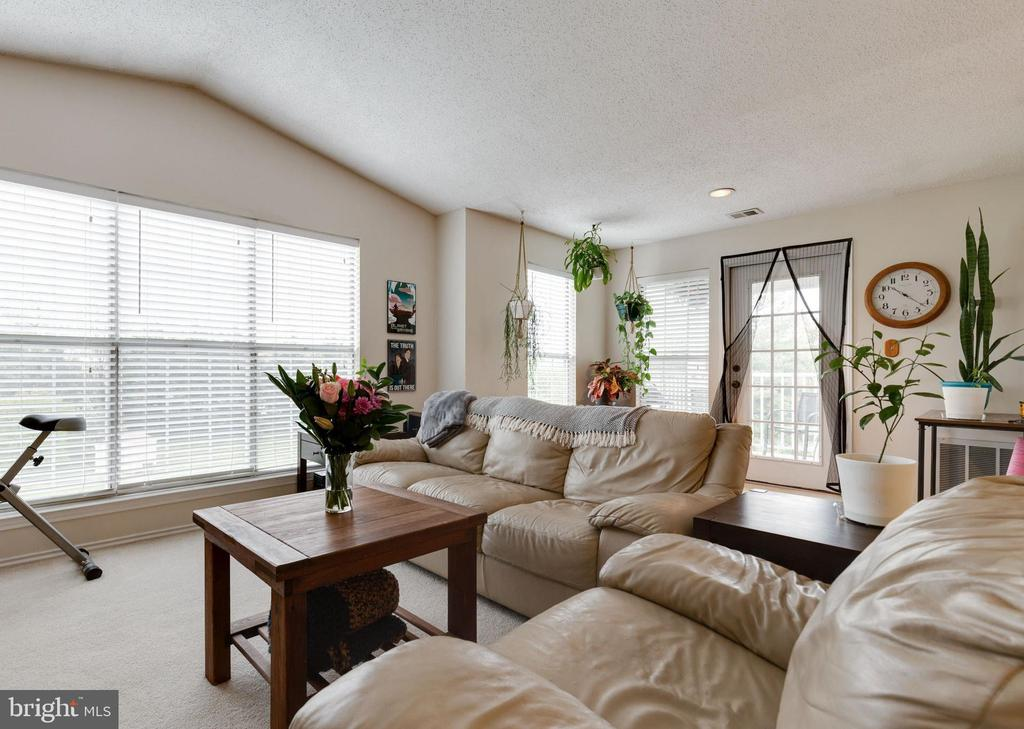 Cathedral Ceilings & Natural Light - 21033 TIMBER RIDGE TER #302, ASHBURN