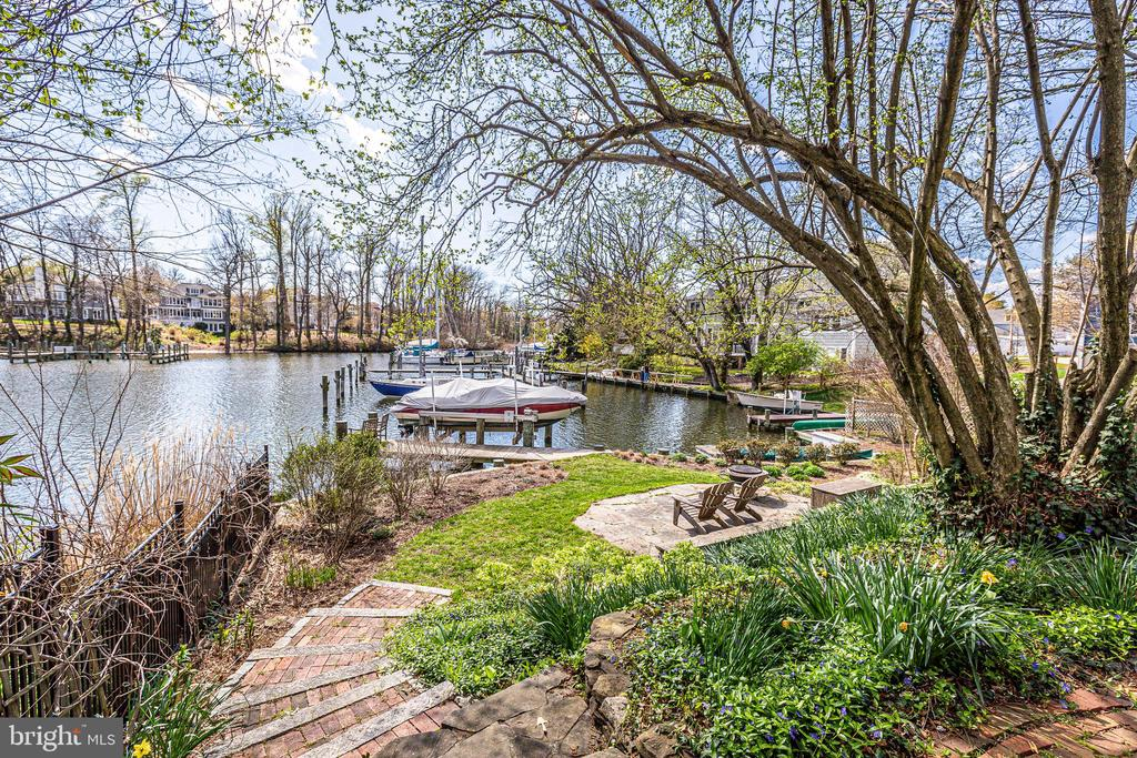 Perfect creek view with easy boat access the Bay - 610 BURNSIDE ST, ANNAPOLIS