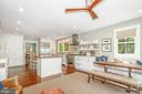Renovated and custom designed cook's kitchen - 610 BURNSIDE ST, ANNAPOLIS