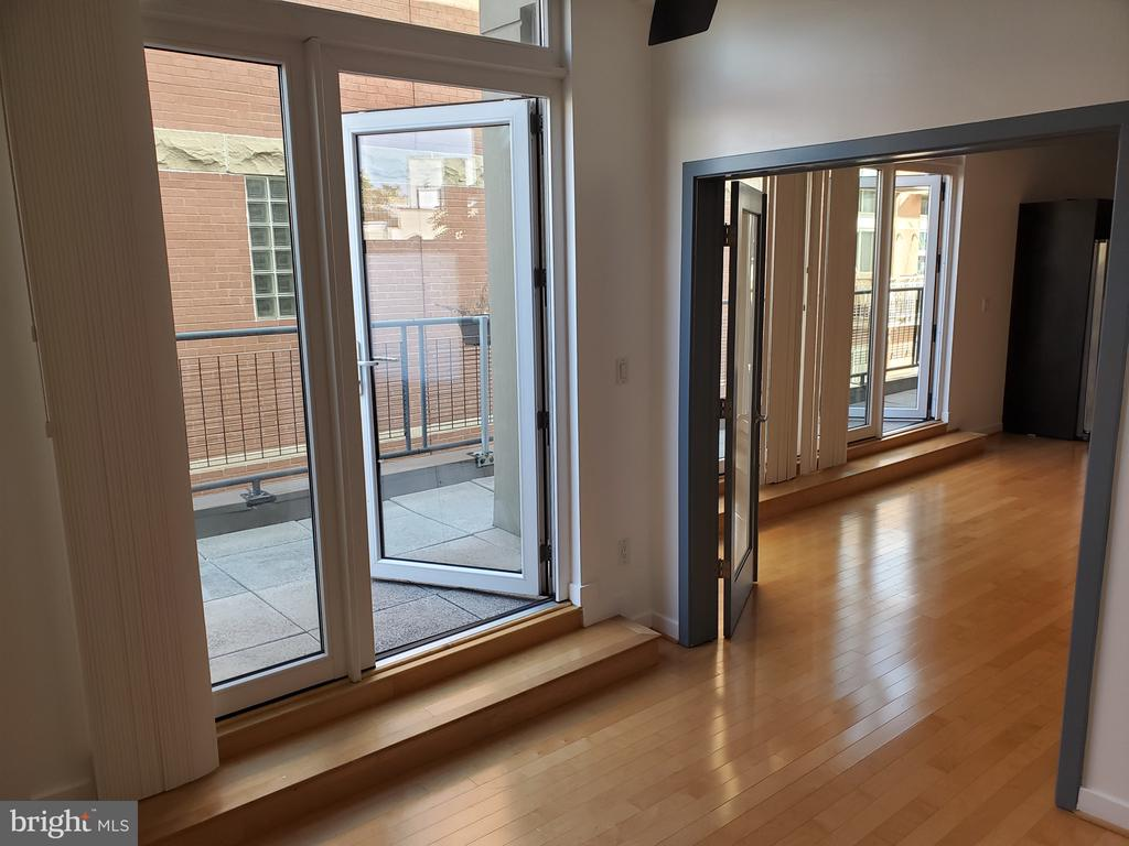 Soundproof!Access Balcony from bedroom for privacy - 1466 NW HARVARD ST NW #PH-3, WASHINGTON