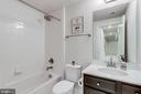 Fourth full bath on lower level - 1381 BISHOP CREST CT, ALEXANDRIA
