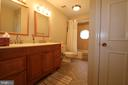 Upstairs bathroom 2 - 10651 OAKTON RIDGE CT, OAKTON