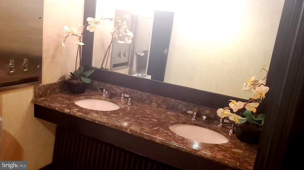Club restroom vanity - 777 7TH ST NW #518, WASHINGTON