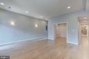 Living room towards the office/dining room - 1122 6TH ST NE, WASHINGTON
