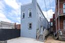 Rear of Property/Parking for two cars - 1122 6TH ST NE, WASHINGTON